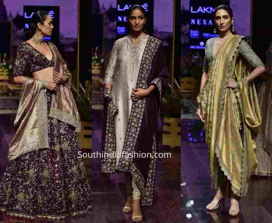 jayanti reddy banarasi collection lakme fashion week 2019