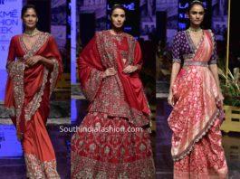 jayanti reddy banarasi collection lakme fashion week 2019 (1)