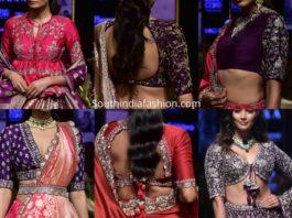 jayanti reddy maggam work blouse designs 2019