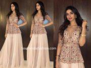 khushi kapoor dress at wedding bali