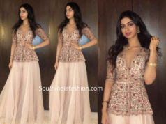 khushi kapoor dress at wedding bali