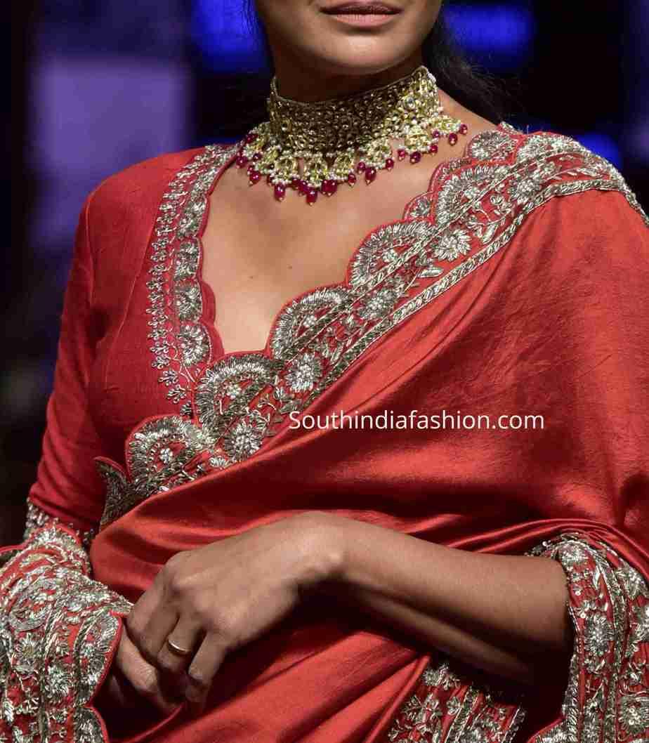 jayanti reddy blouses for saree and lehenga