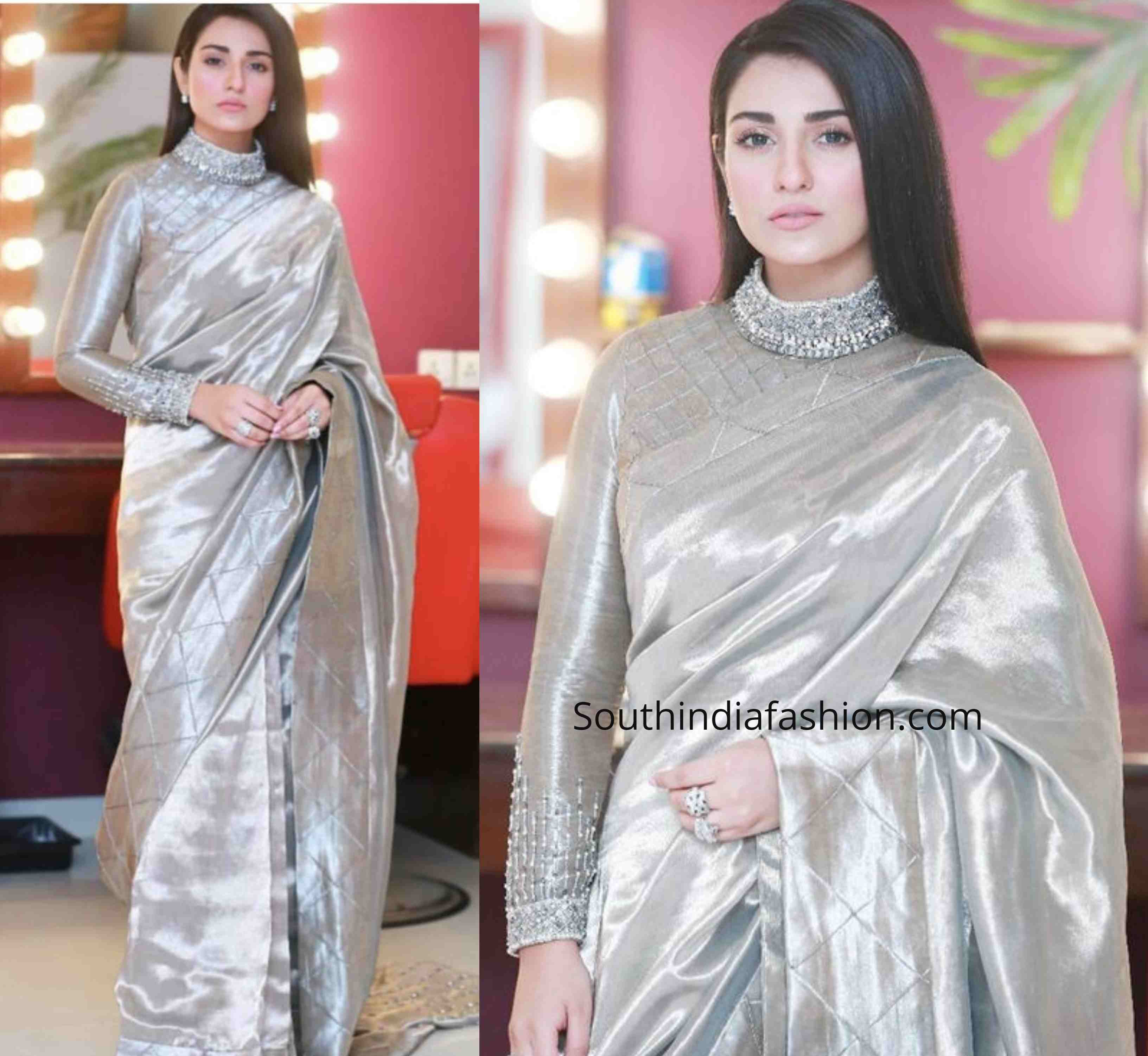 New Blouse Designs 2019 Latest Silk Saree Blouse Designs