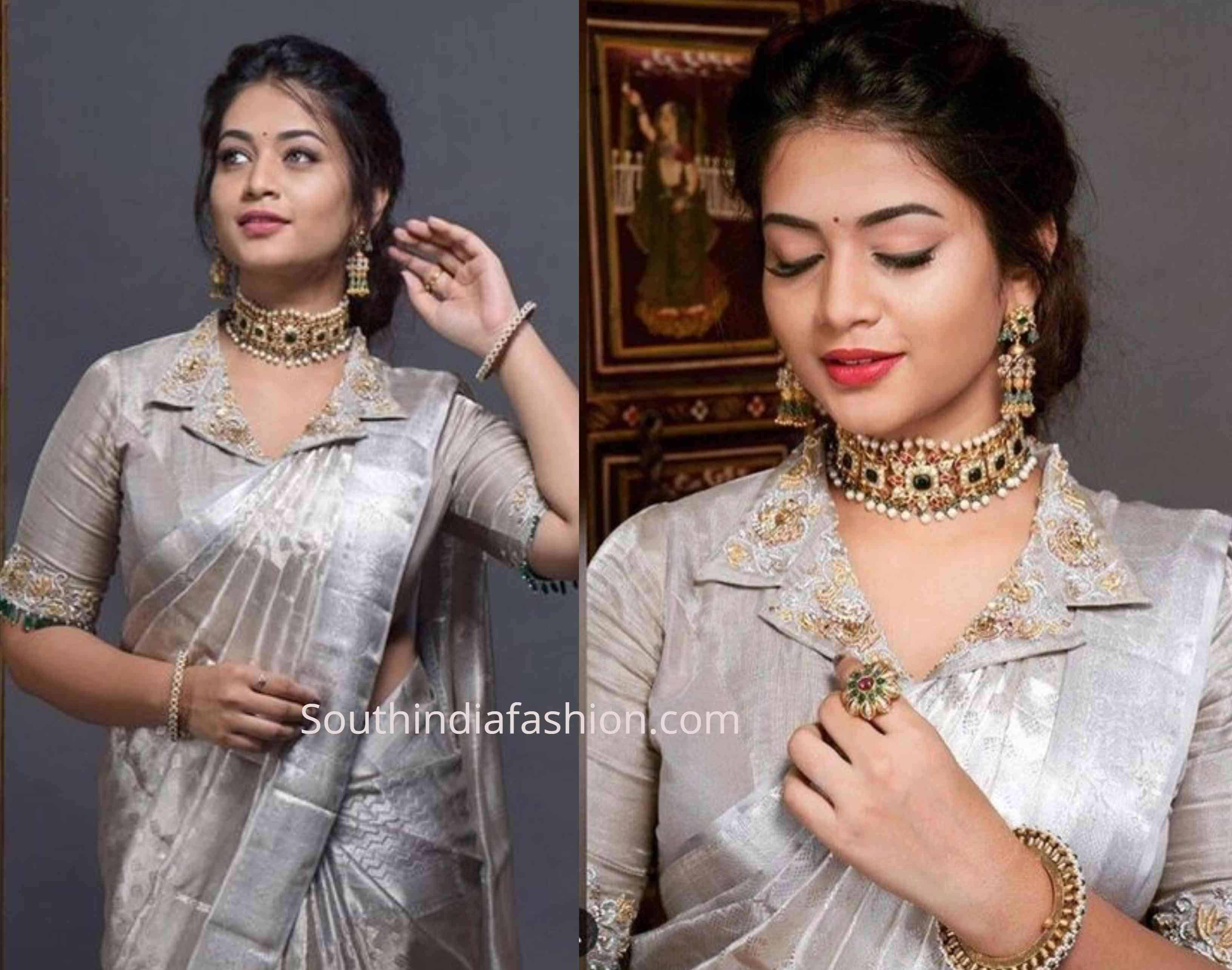 New Blouse Designs 2019 Latest Silk Saree Blouse Designs