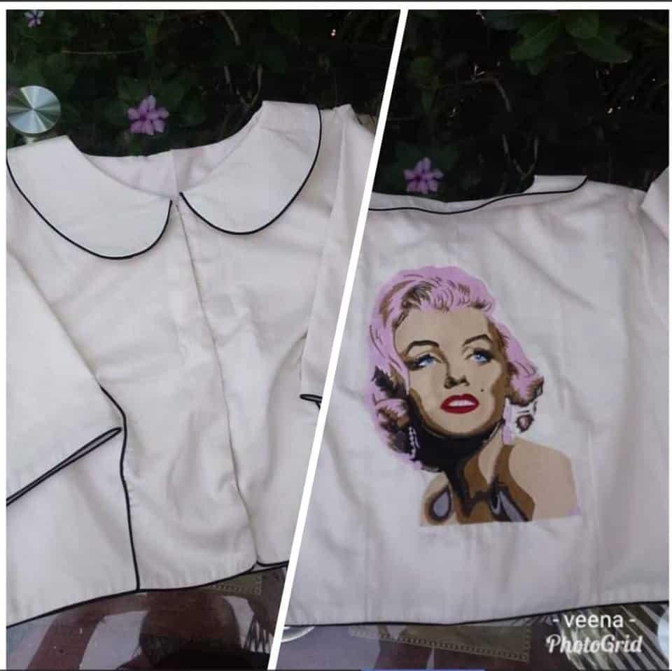 Marlyn Monroe blouse