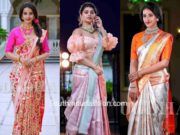 mugdha art studio bridal silk sarees
