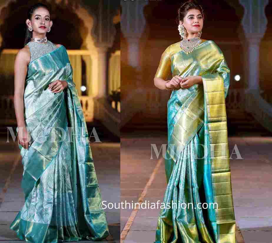 mugdha art studio bridal silk sarees