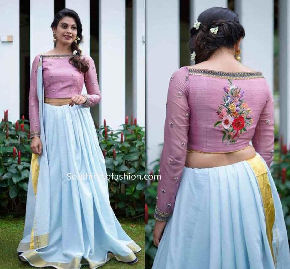 onam saree collection label m
