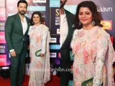 prithviraj wife at siima awards 2019