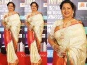 radhika sarathkumar pattu saree siima awards 2019