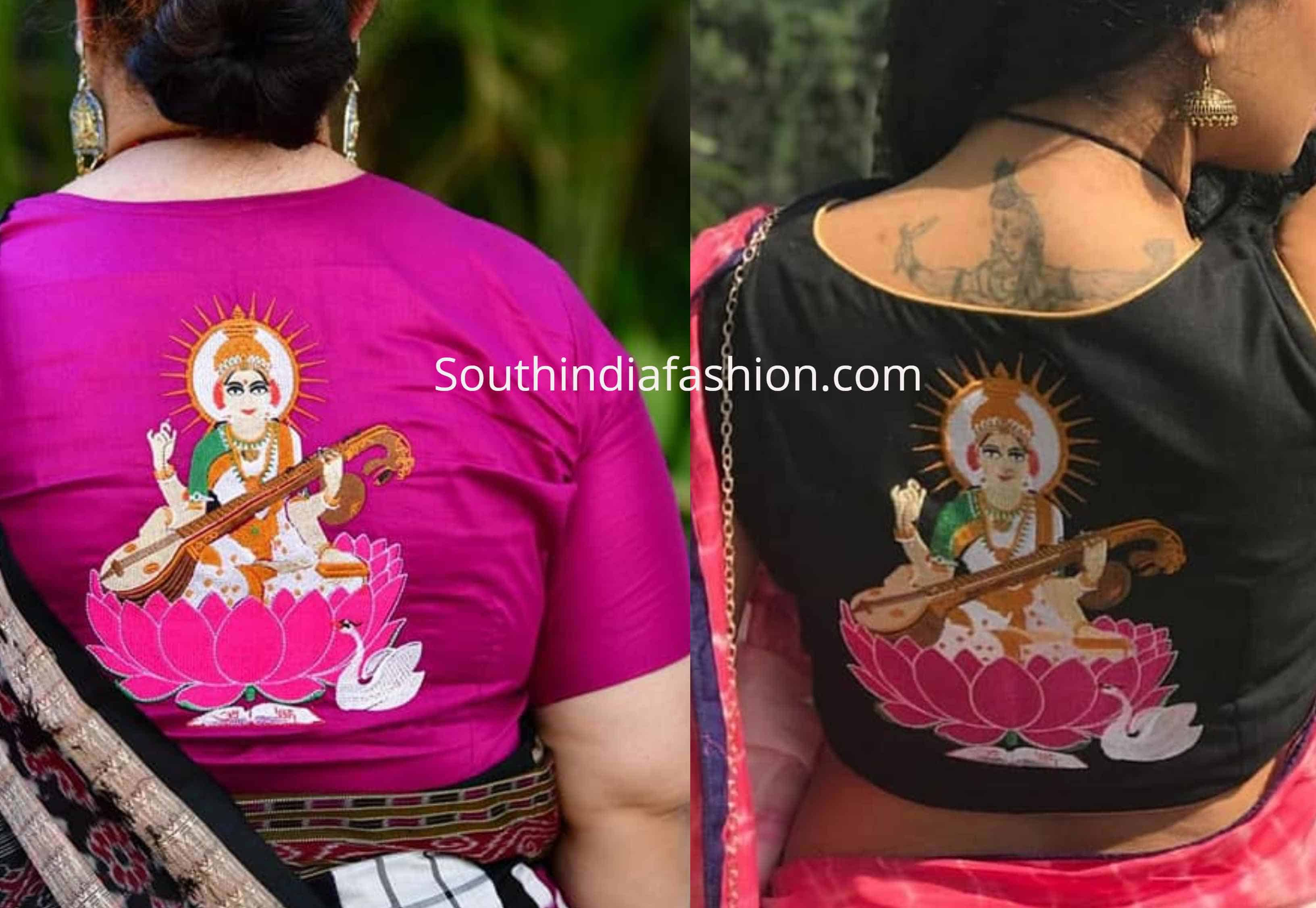 lakshmi design blouse