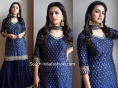 shraddha srinath blue sharara jodi promotions