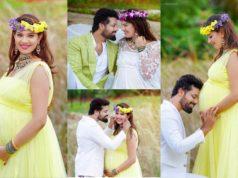singer geetha madhuri pregnancy photoshoot (7)