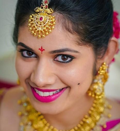 sunitha Caringula makeup