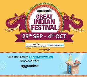 Amazon India offer
