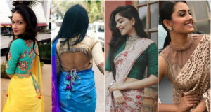 Oomph Up your Simple Saree with Various Types of Blouses