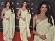PRIYANKA CHOPRA SAREE AT INDIAN SPORTS HONOURS EVENT