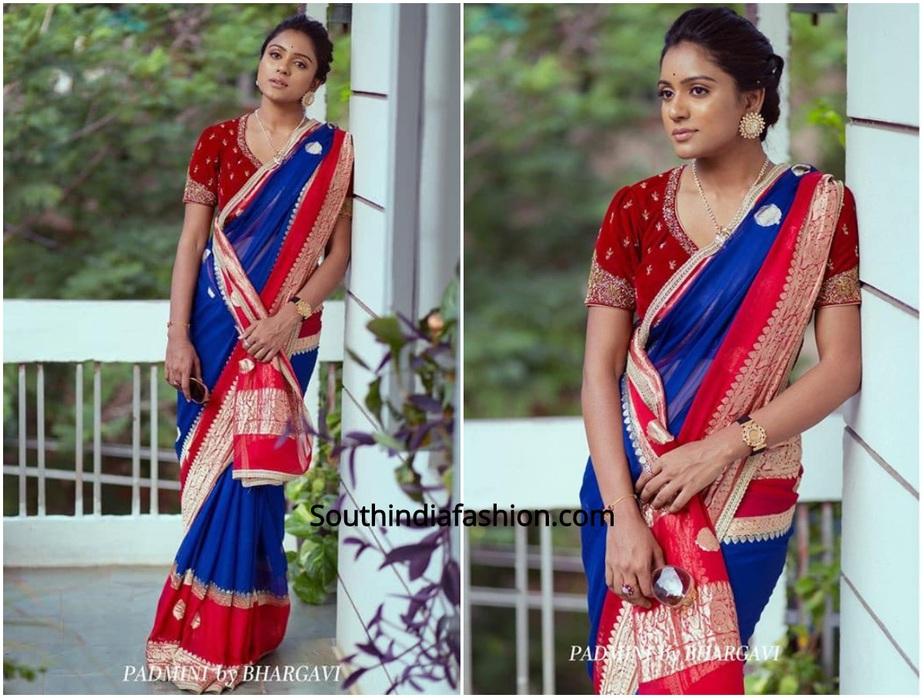 designer sarees by bhargavi kunam