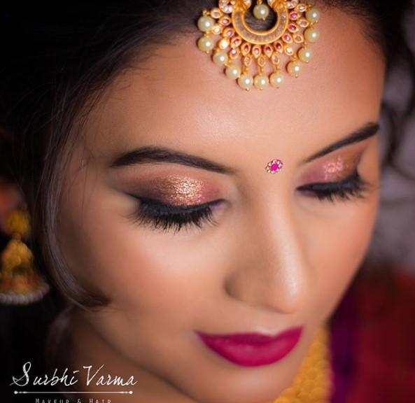 Surabhi Varma makeup