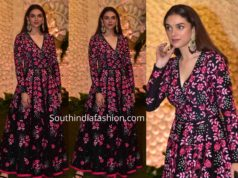 aditi rao hydari anarkali at ambani ganpati celebrations