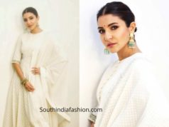 anushka sharma white anarkali