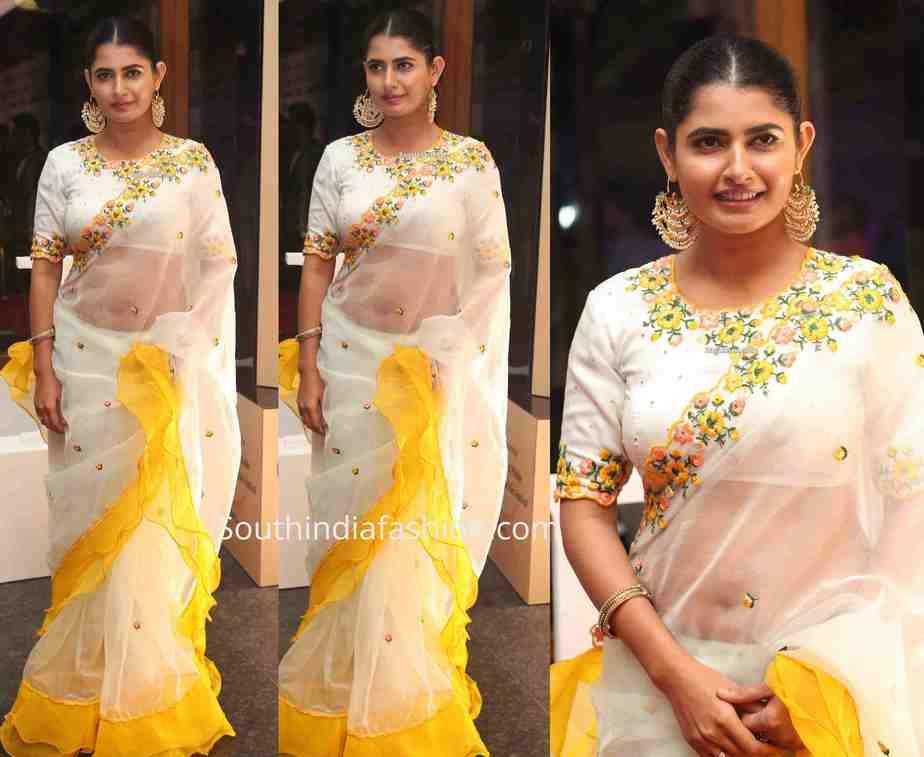 ashima narwal ruffle saree ta dadasaheb phalke awards