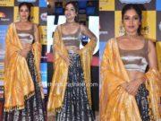 bhumi pednekar in banarasi silk lehenga at jagran film festival