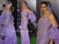 deepika purple dress at iifa 2019