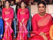 director surender reddy wife pattu saree at sye raa pre release function