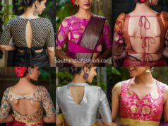 festive brocade blouse designs