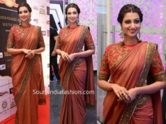 hamsa nanadini saree at dada saheb phalke awards 2019