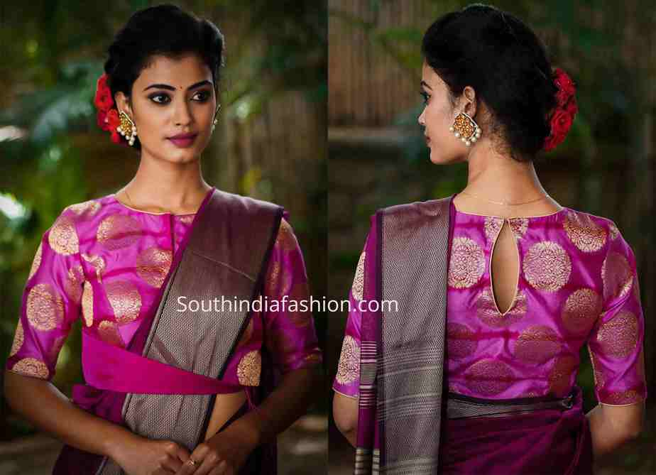 latest blouse patterns 2019 festive collection