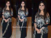 isha ambani abu jani sandeep khosla saree at ajsk 33 years fashion show