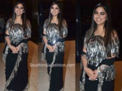 isha ambani abu jani sandeep khosla saree at ajsk 33 years fashion show