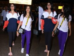 janhvi kapoor and khushi kapoor at airport