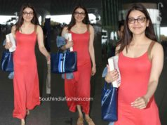 kajal aggarwal airport look no makeup