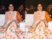 lavanya tripathi lehenga at cinemahotsavam 2019