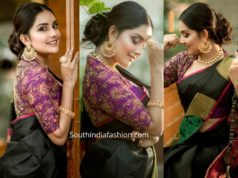 mahima nambiar traditional saree