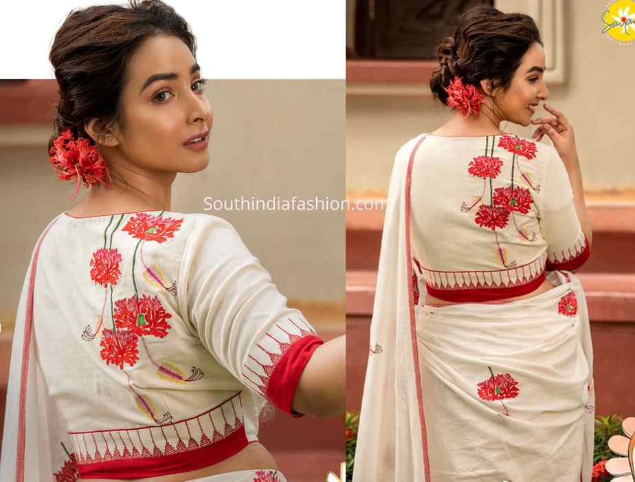new model embroidery blouse designs