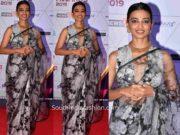 radhika apte saree at ireel awards 2019