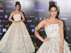 sara ali khan white gown at iifa awards 2019