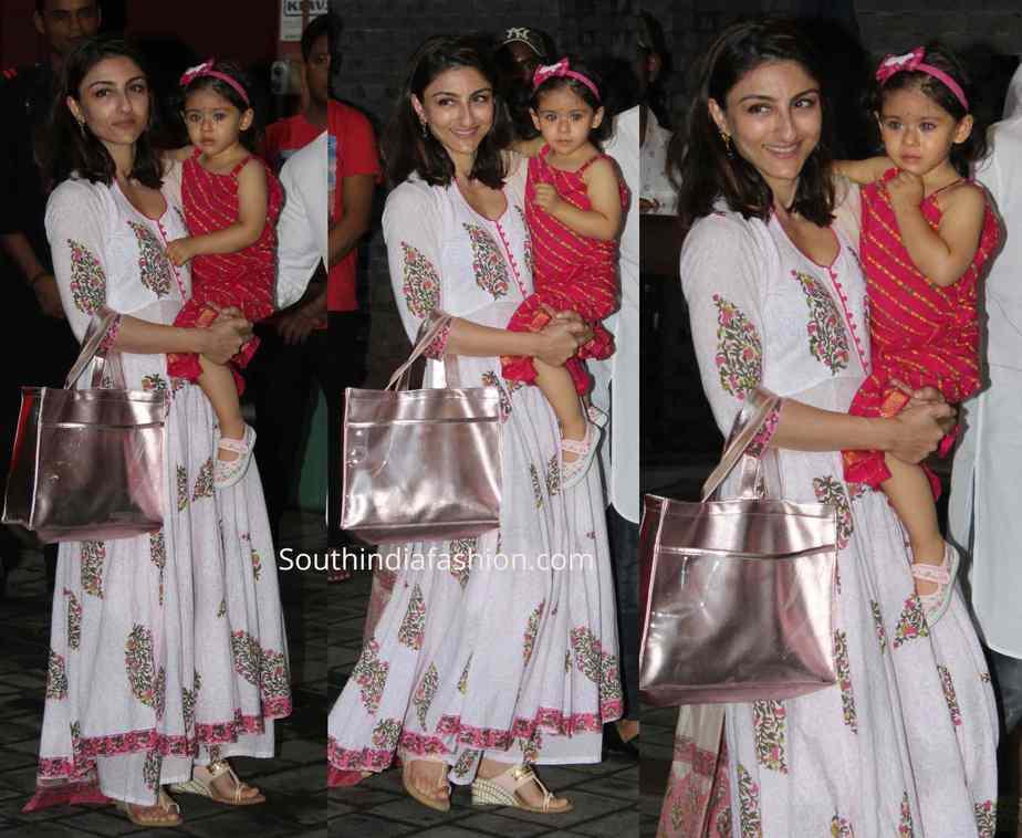 soha ali khan with daughter
