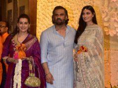 sunil shetty family ganesh chturthi 2019