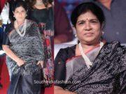 surekha konidela black saree at sye raa pre relesae event (1)