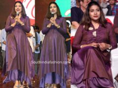 sushmita konidela dress at stye raa narasimha reddy pre release event