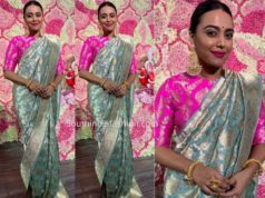 swara bhaskar in raw mango saree
