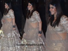 Ekta Kapoor at Anil Kapoor's Diwali Party