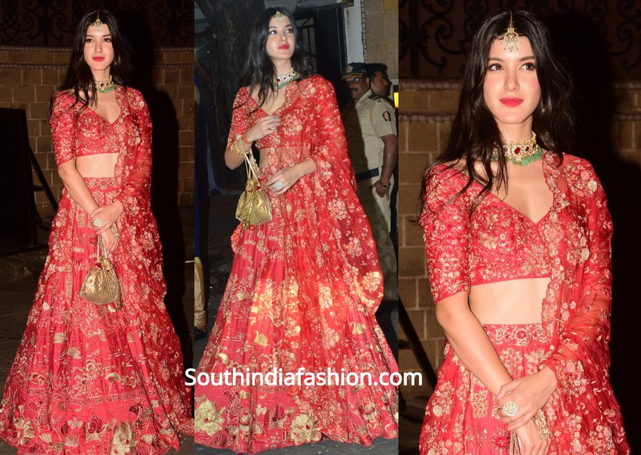 Shanaya Kapoor in Ethnic Wear for Diwali Party
