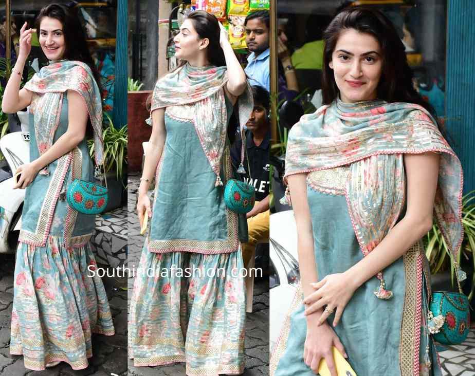 Shivaleeka Oberoi sharara suit