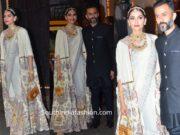 Sonam Kapoor Ahuja Dazzled at Diwali Party 2019